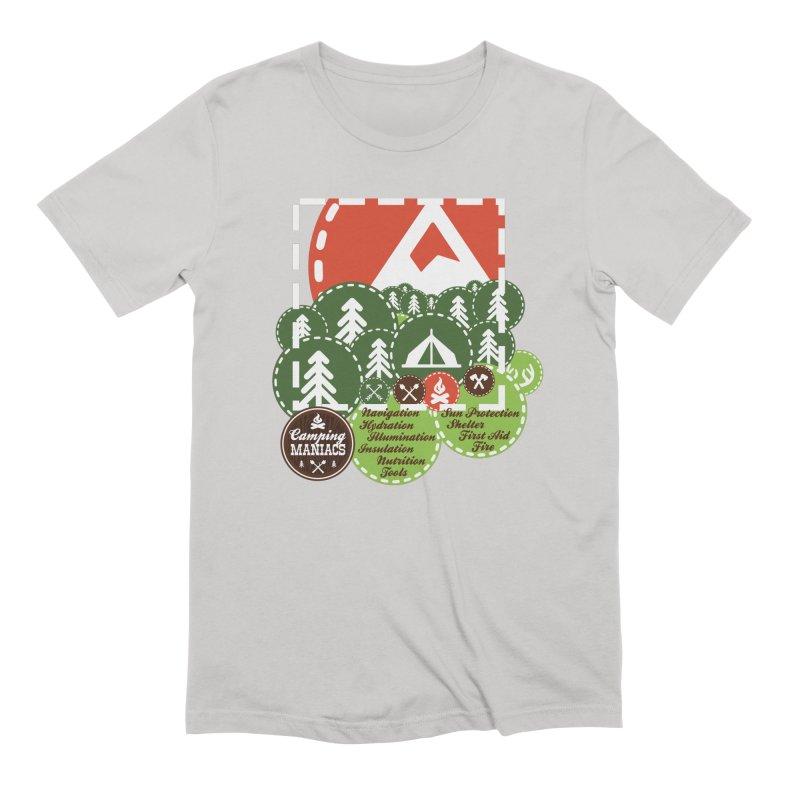 Camping Maniacs - Camp Men's Extra Soft T-Shirt by Casa Norte's Artist Shop