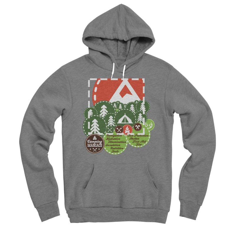 Camping Maniacs - Camp Women's Pullover Hoody by Casa Norte's Artist Shop