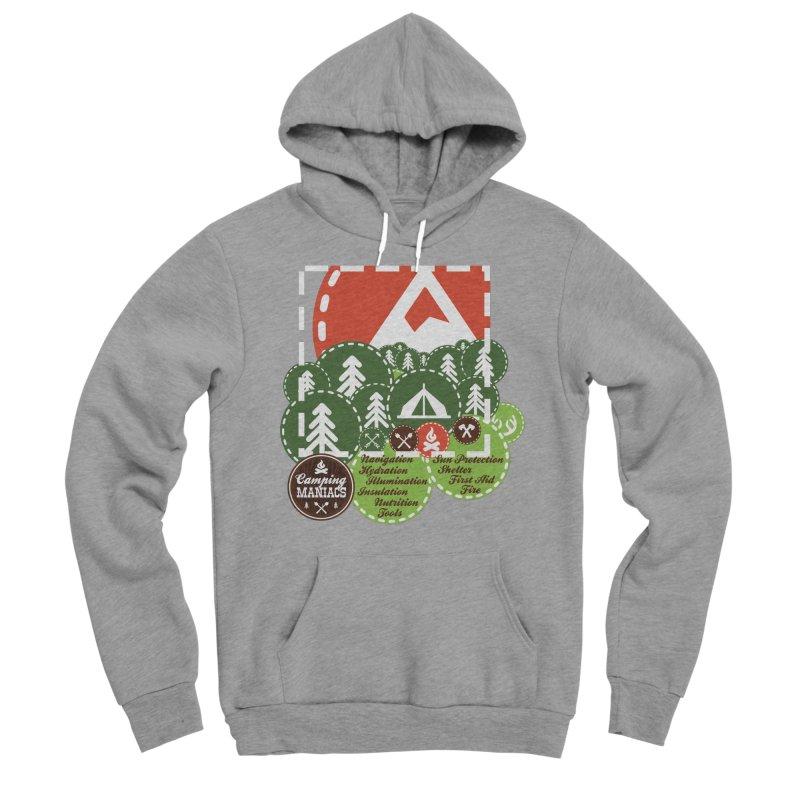 Camping Maniacs - Camp Women's Sponge Fleece Pullover Hoody by Casa Norte's Artist Shop