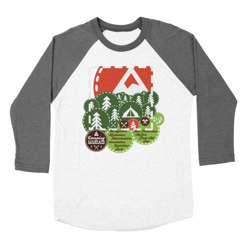 Camping Maniacs - Camp Women's Longsleeve T-Shirt by Casa Norte's Artist Shop