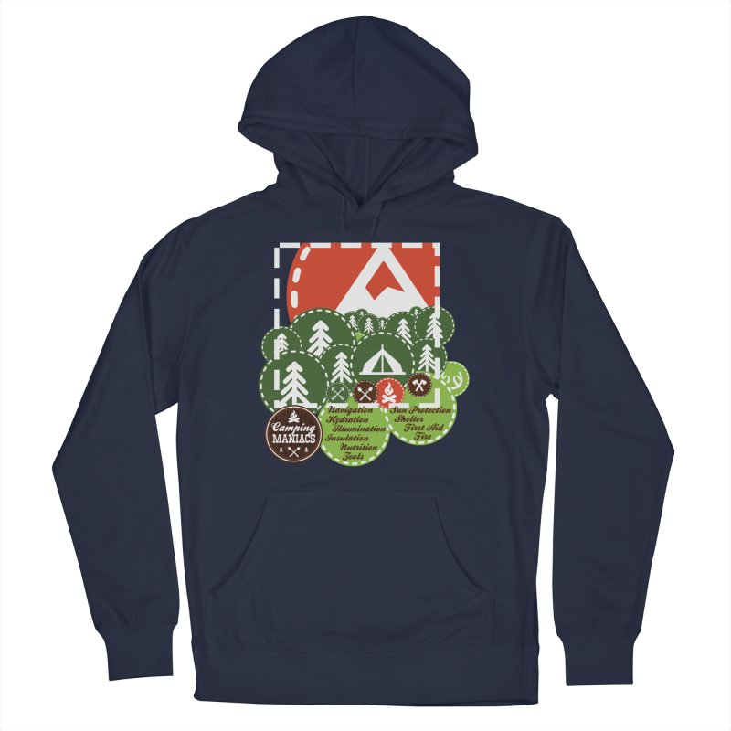 Camping Maniacs - Camp Men's Pullover Hoody by Casa Norte's Artist Shop