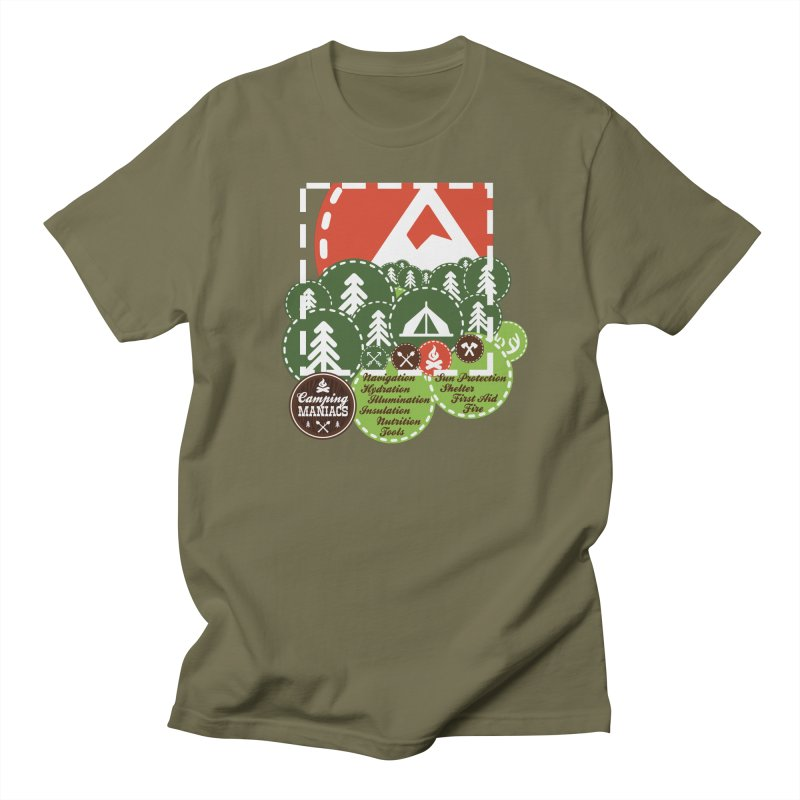 Camping Maniacs - Camp Women's Regular Unisex T-Shirt by Casa Norte's Artist Shop