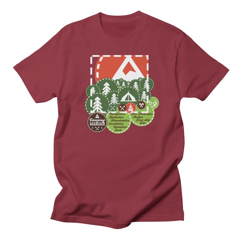 Camping Maniacs - Camp Women's T-Shirt by Casa Norte's Artist Shop