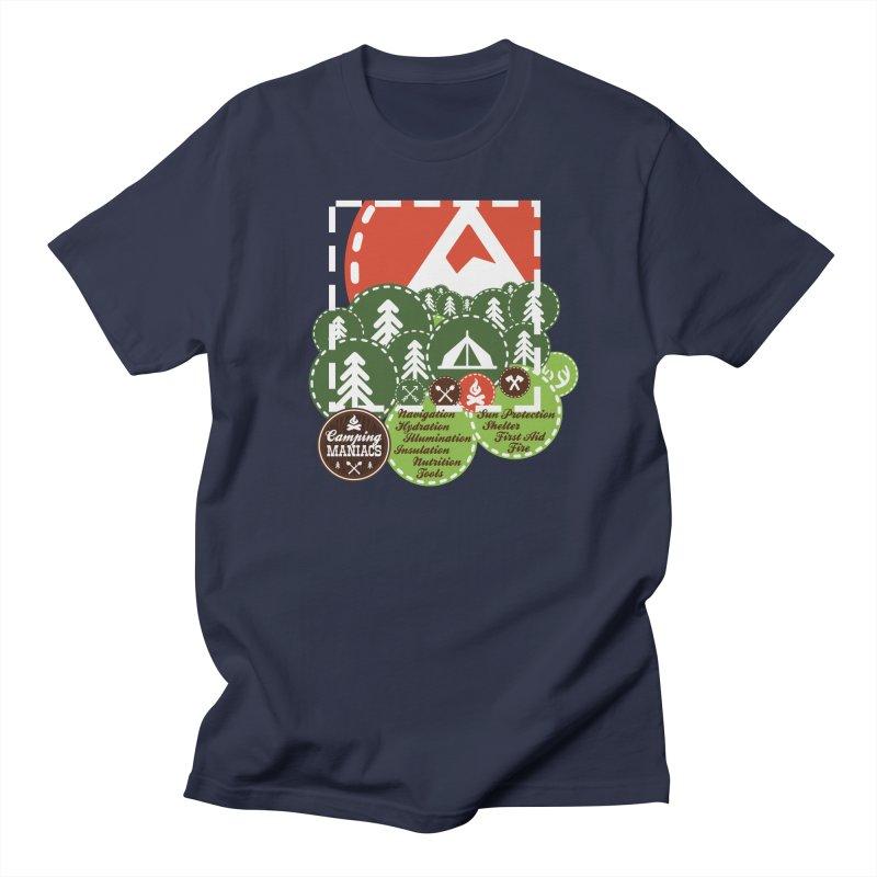 Camping Maniacs - Camp Men's T-Shirt by Casa Norte's Artist Shop