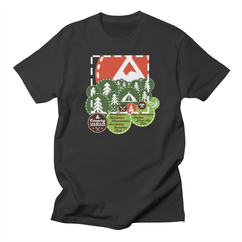 Camping Maniacs - Camp Men's T-Shirt by Casa Norte's Artist Shop