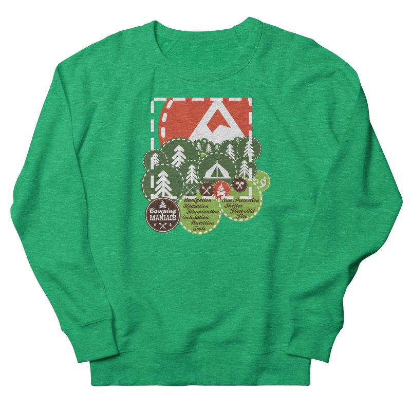 Camping Maniacs - Camp Women's Sweatshirt by Casa Norte's Artist Shop