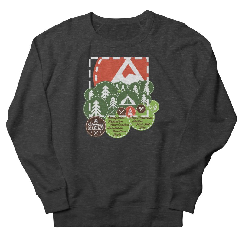 Camping Maniacs - Camp Women's French Terry Sweatshirt by Casa Norte's Artist Shop