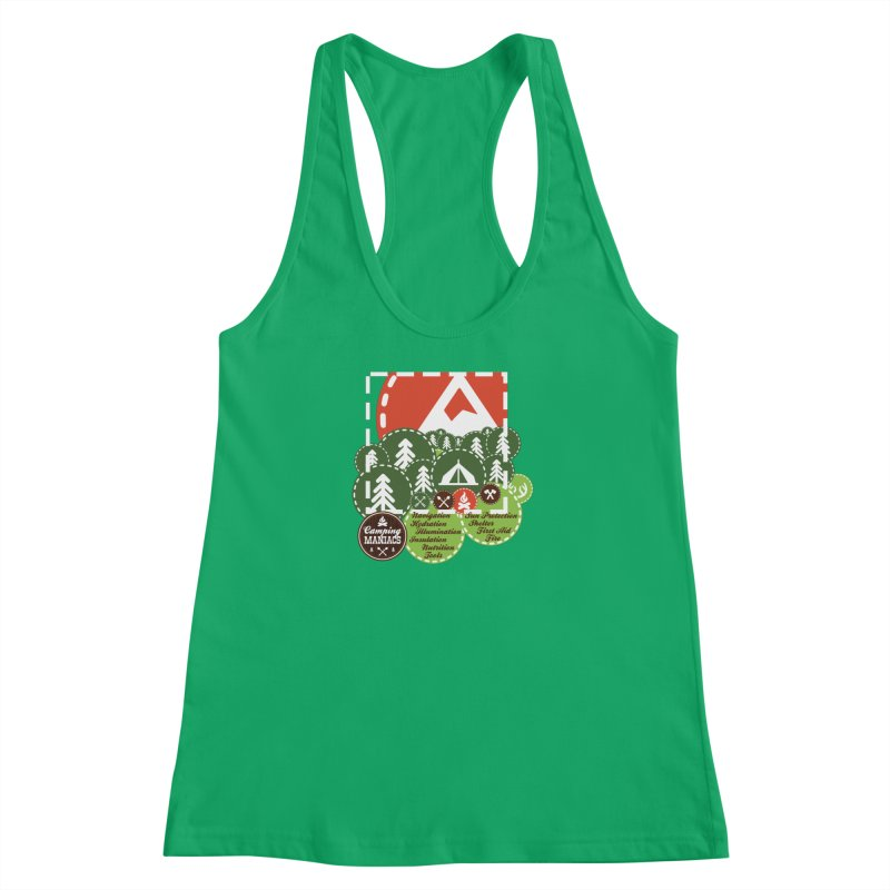 Camping Maniacs - Camp Women's Tank by Casa Norte's Artist Shop