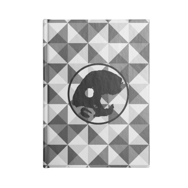 CasaNorte - CasaNorte10 Accessories Lined Journal Notebook by Casa Norte's Artist Shop