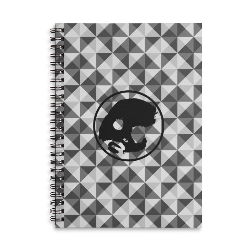 CasaNorte - CasaNorte10 Accessories Lined Spiral Notebook by Casa Norte's Artist Shop