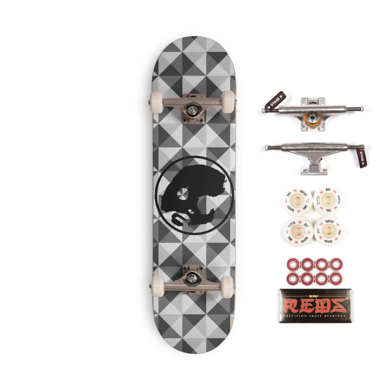 CasaNorte - CasaNorte10 Accessories Complete - Pro Skateboard by Casa Norte's Artist Shop