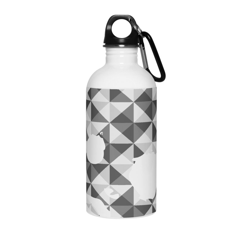 CasaNorte - CasaNorte11 Accessories Water Bottle by Casa Norte's Artist Shop