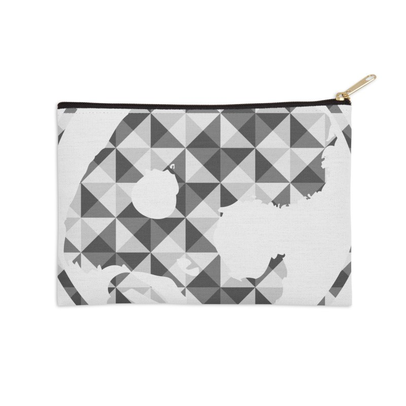 CasaNorte - CasaNorte11 Accessories Zip Pouch by Casa Norte's Artist Shop