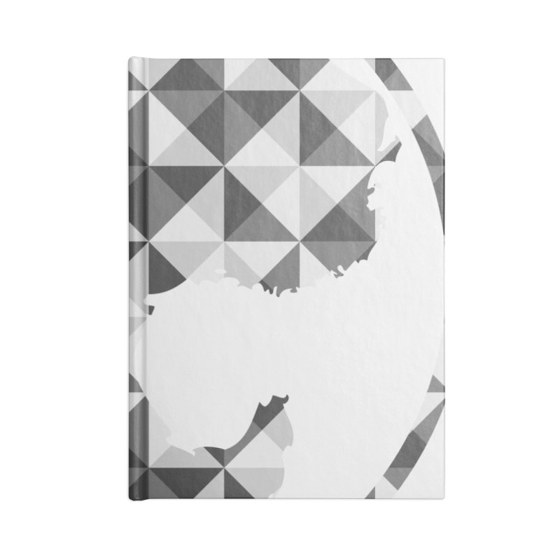 CasaNorte - CasaNorte11 Accessories Lined Journal Notebook by Casa Norte's Artist Shop