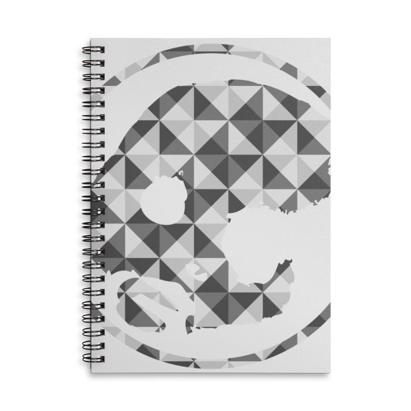CasaNorte - CasaNorte11 Accessories Lined Spiral Notebook by Casa Norte's Artist Shop