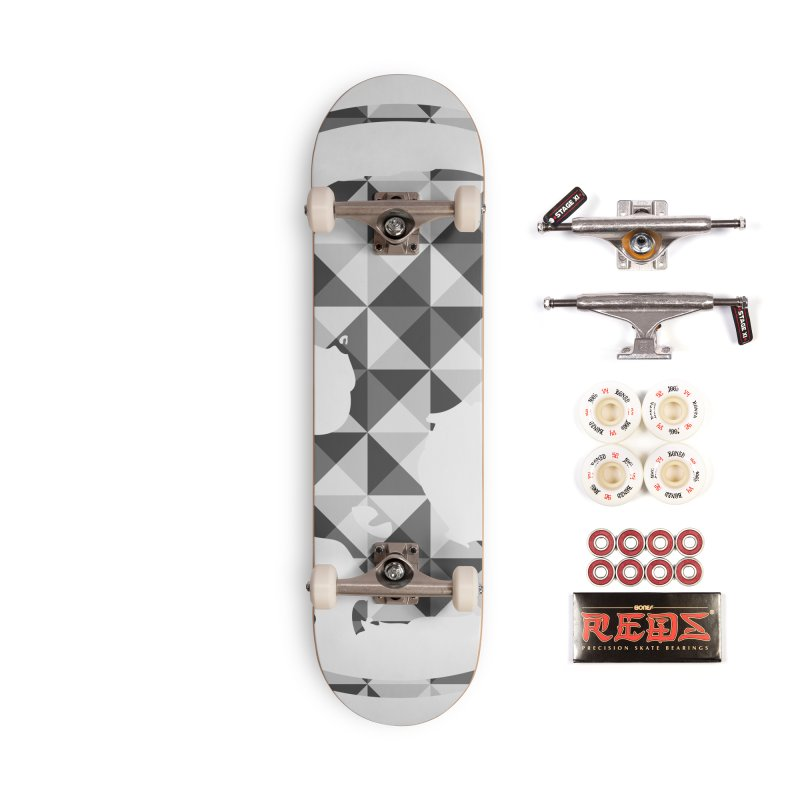 CasaNorte - CasaNorte11 Accessories Complete - Pro Skateboard by Casa Norte's Artist Shop