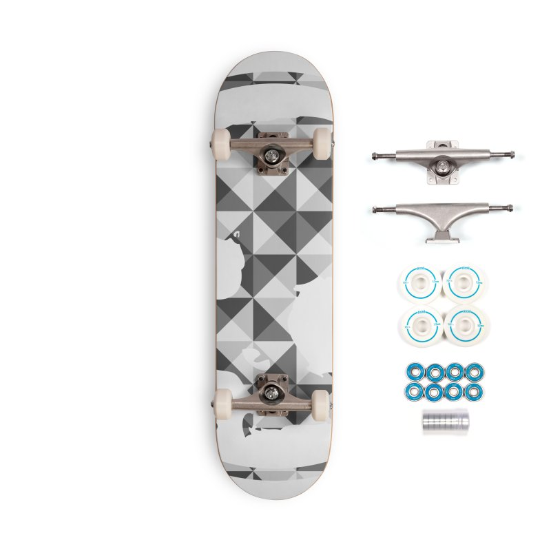 CasaNorte - CasaNorte11 Accessories Complete - Basic Skateboard by Casa Norte's Artist Shop