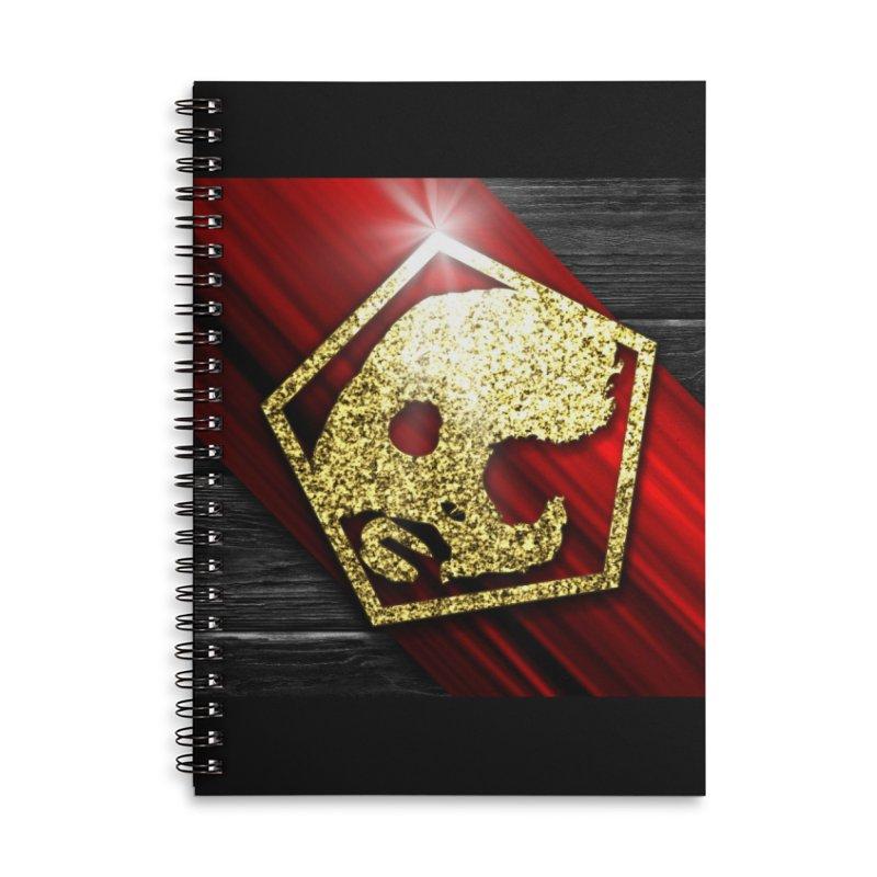 CasaNorte - Star Accessories Lined Spiral Notebook by Casa Norte's Artist Shop
