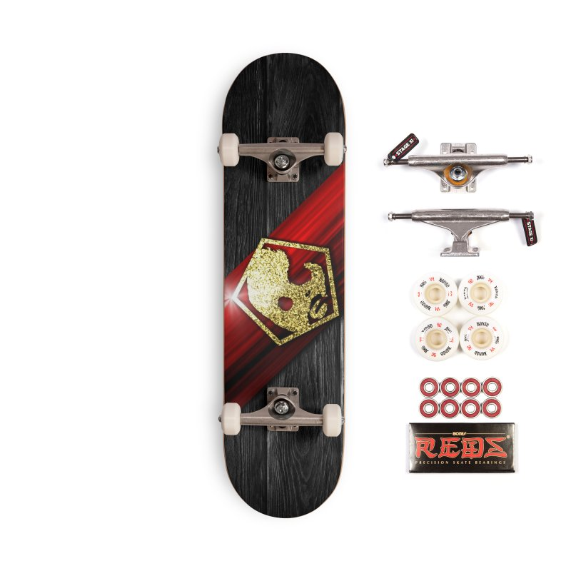 CasaNorte - Star Accessories Skateboard by Casa Norte's Artist Shop
