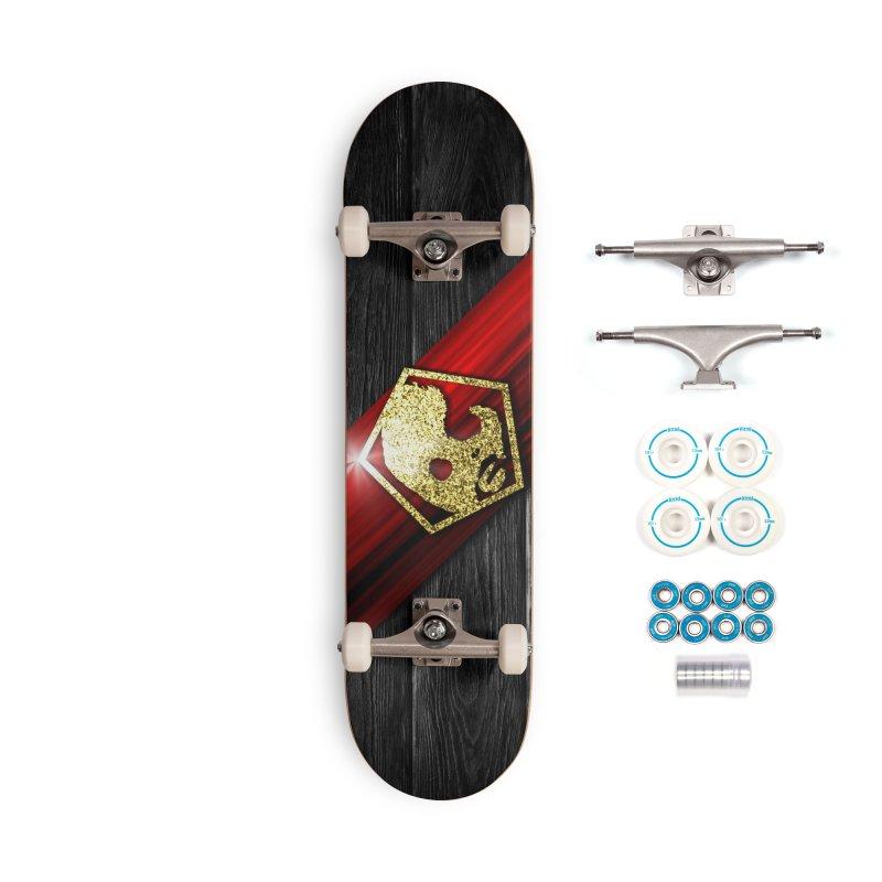 CasaNorte - Star Accessories Complete - Basic Skateboard by Casa Norte's Artist Shop