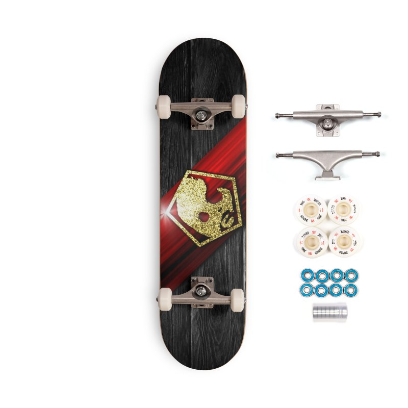 CasaNorte - Star Accessories Complete - Premium Skateboard by Casa Norte's Artist Shop