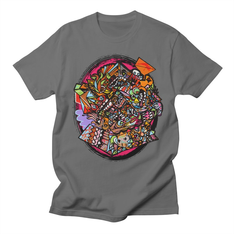 Angle Grinder (in livin color) Men's T-Shirt by Casper Sheets's Art and assorted oddities
