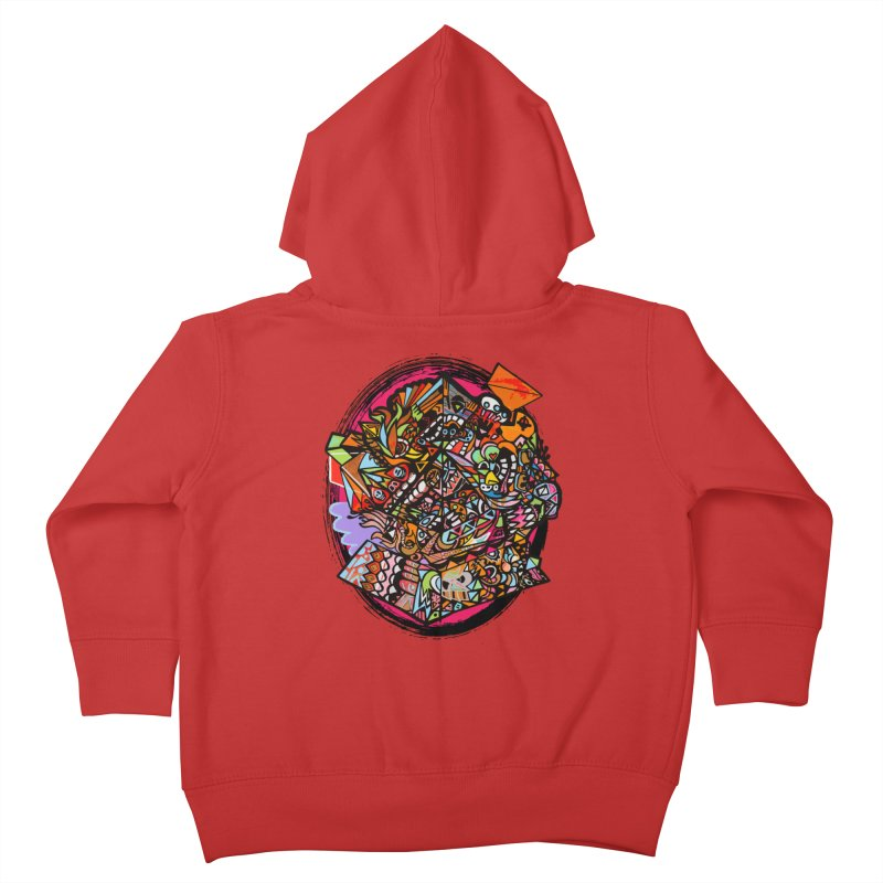 Angle Grinder (in livin color) Kids Toddler Zip-Up Hoody by Casper Sheets's Art and assorted oddities