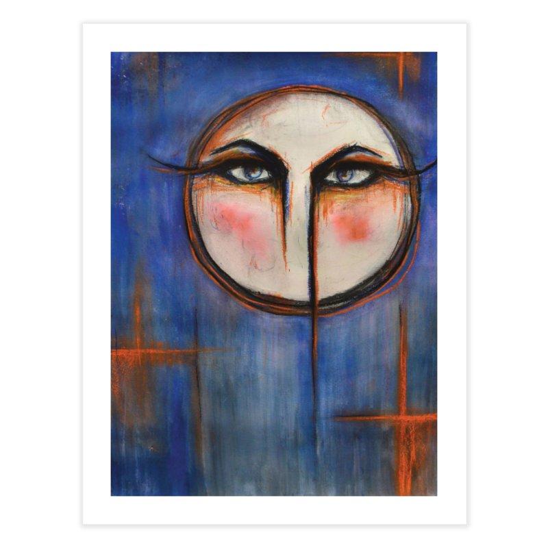 Me ha dicho la luna / The moon has told me Home Fine Art Print by Catalina's Shop