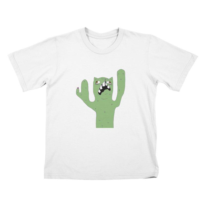 Catcus Kids Toddler T-Shirt by CATCARYEG