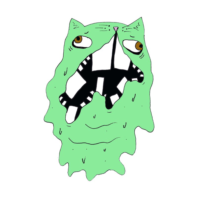 Slime Cat by CATCARYEG