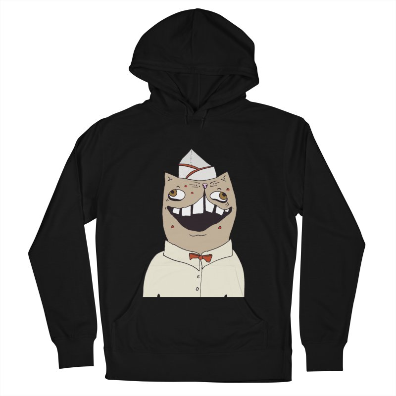 Ronald Mckitty Women's French Terry Pullover Hoody by CATCARYEG