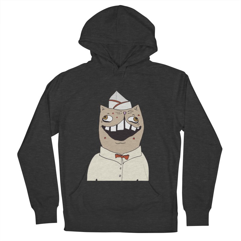 Ronald Mckitty Men's French Terry Pullover Hoody by CATCARYEG