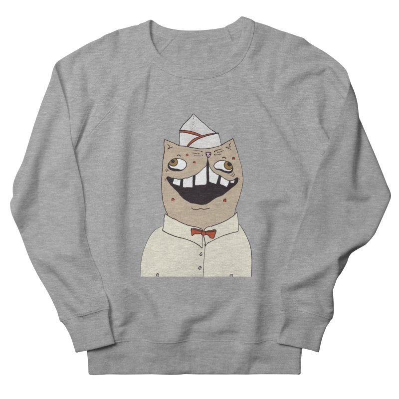 Ronald Mckitty Men's French Terry Sweatshirt by CATCARYEG