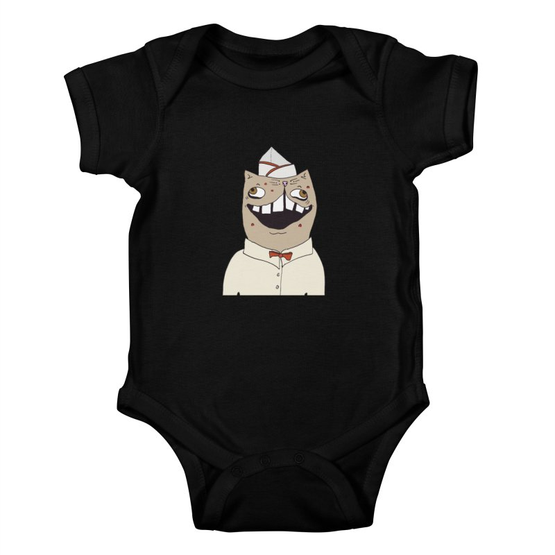 Ronald Mckitty Kids Baby Bodysuit by CATCARYEG
