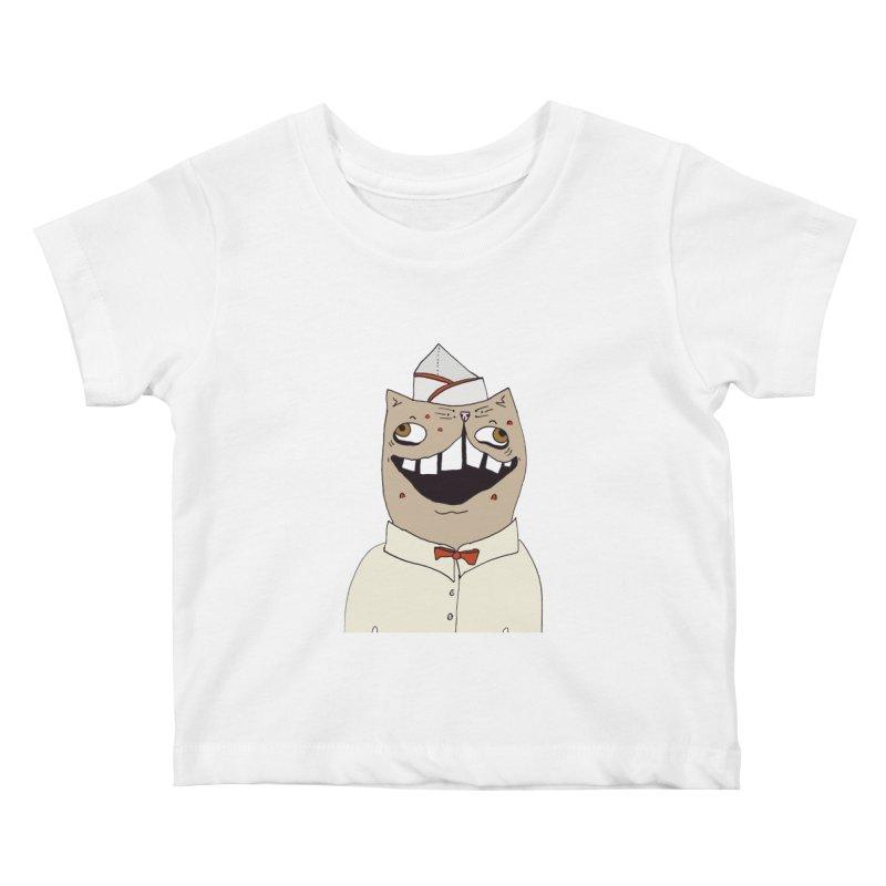 Ronald Mckitty Kids Baby T-Shirt by CATCARYEG