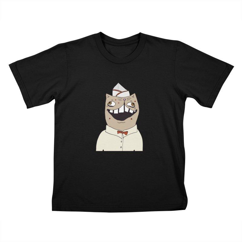 Ronald Mckitty Kids T-Shirt by CATCARYEG
