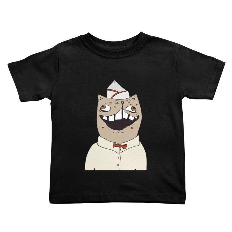Ronald Mckitty Kids Toddler T-Shirt by CATCARYEG