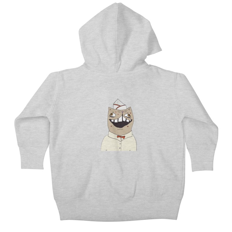 Ronald Mckitty Kids Baby Zip-Up Hoody by CATCARYEG