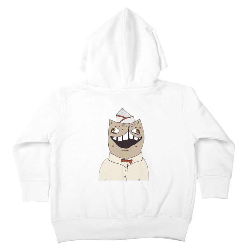 Ronald Mckitty Kids Toddler Zip-Up Hoody by CATCARYEG