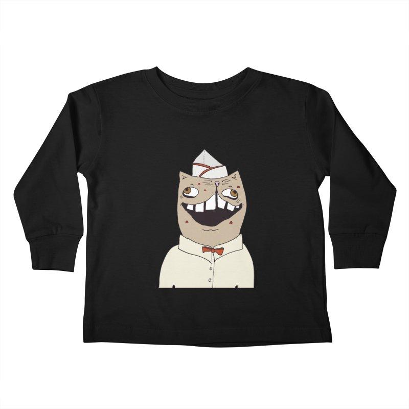 Ronald Mckitty Kids Toddler Longsleeve T-Shirt by CATCARYEG