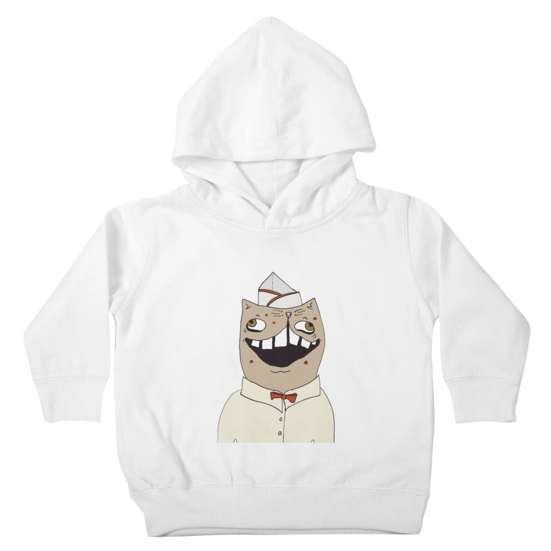 Ronald Mckitty Kids Toddler Pullover Hoody by CATCARYEG