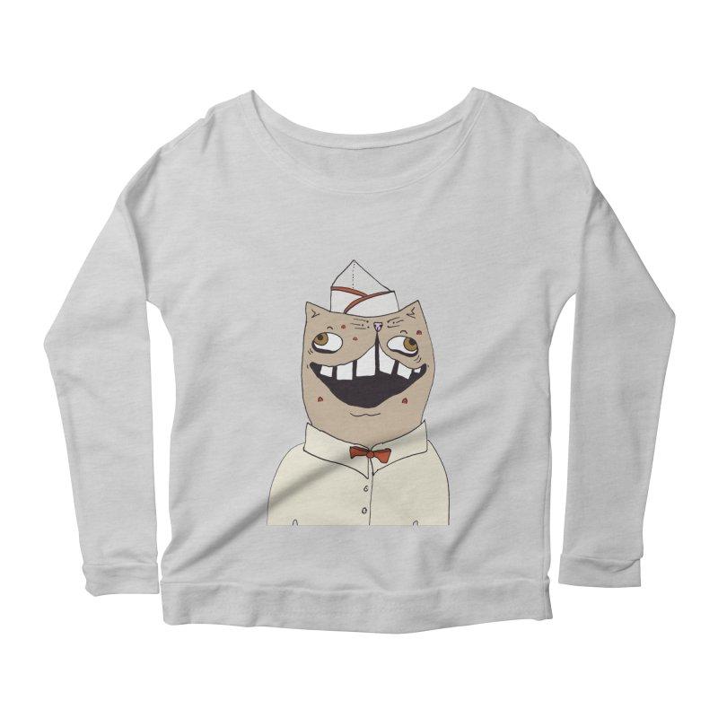 Ronald Mckitty Women's Scoop Neck Longsleeve T-Shirt by CATCARYEG