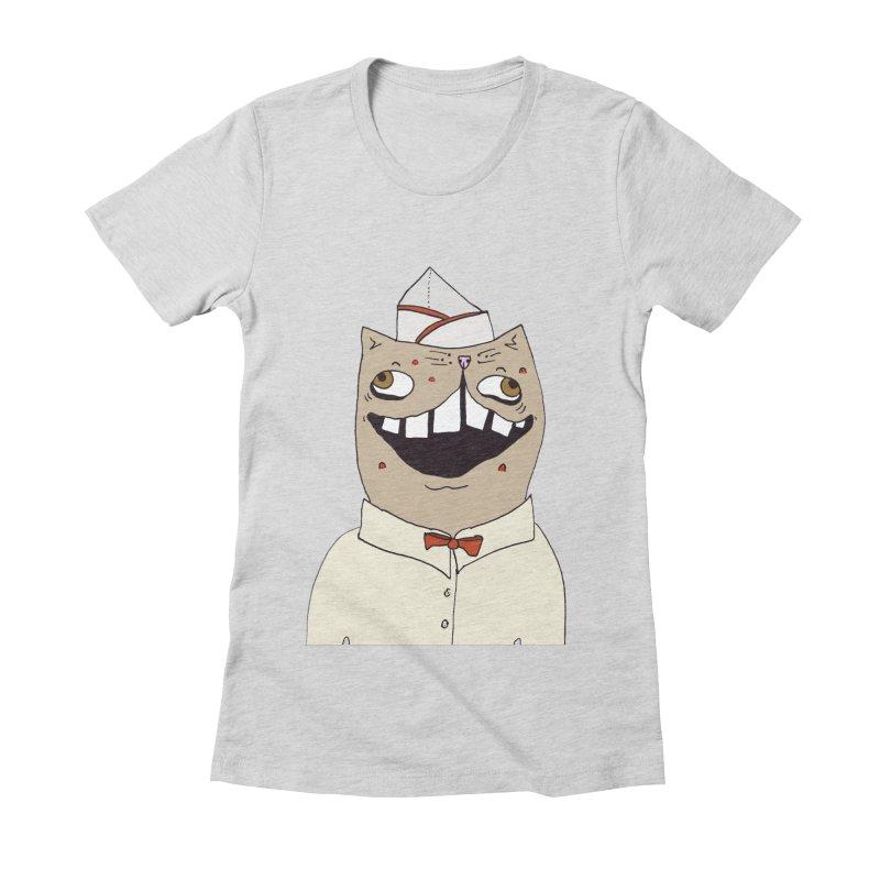 Ronald Mckitty Women's Fitted T-Shirt by CATCARYEG