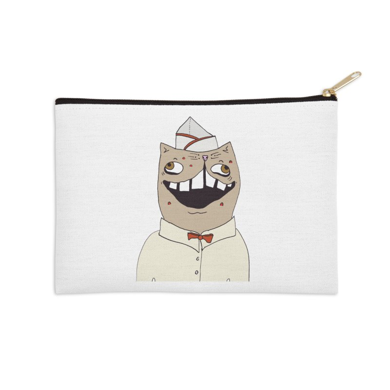 Ronald Mckitty Accessories Zip Pouch by CATCARYEG