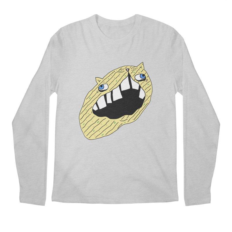 Cat-sup Chip Men's Regular Longsleeve T-Shirt by CATCARYEG