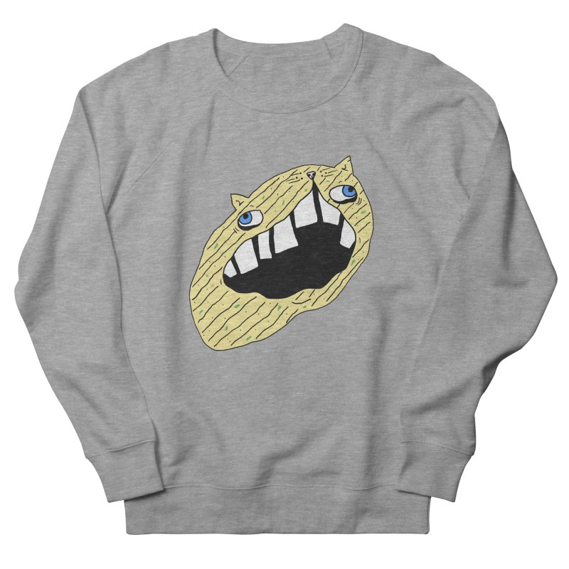 Cat-sup Chip Women's French Terry Sweatshirt by CATCARYEG