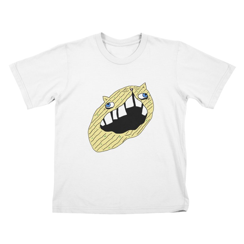 Cat-sup Chip Kids Toddler T-Shirt by CATCARYEG