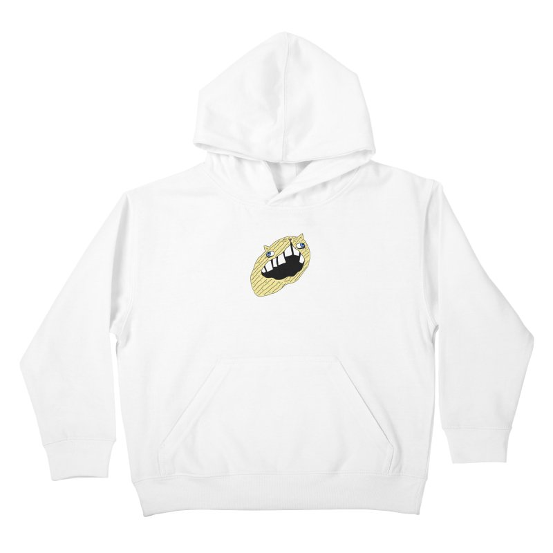 Cat-sup Chip Kids Pullover Hoody by CATCARYEG