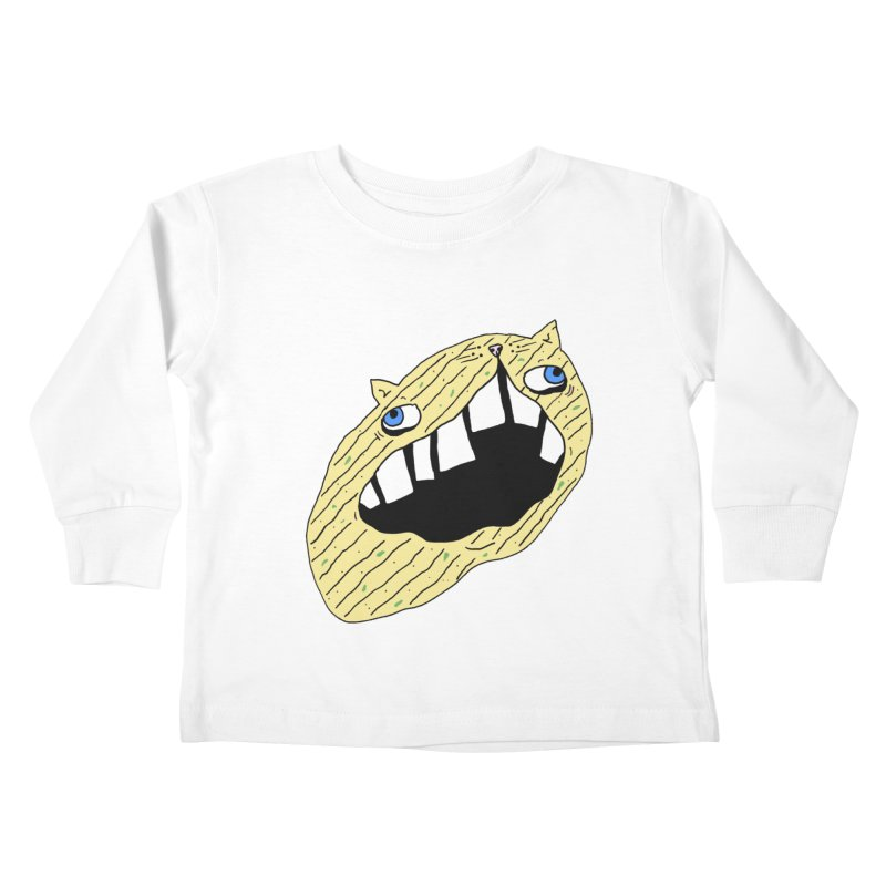 Cat-sup Chip Kids Toddler Longsleeve T-Shirt by CATCARYEG