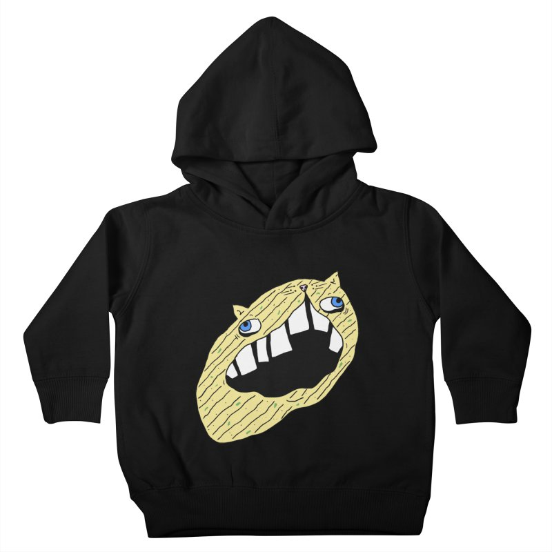 Cat-sup Chip Kids Toddler Pullover Hoody by CATCARYEG